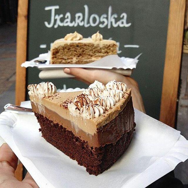 Tarta capuccino de Txarloska