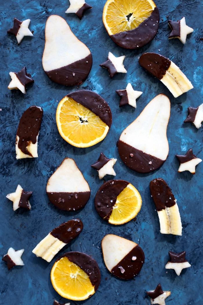 Fruta y chocolate Brenda Godinez