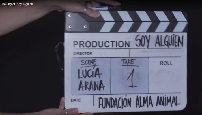 Making of campaña Soy Alguien de Fundación Alma Animal